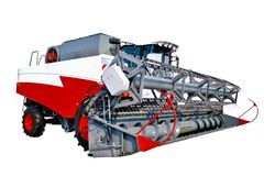 Grain harvester combine Stock Images