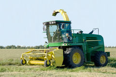 Grain harvester combine Royalty Free Stock Images