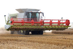 Grain harvester Royalty Free Stock Photography
