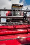 Grain-harvesting self-propelled harvester Stock Image