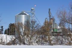Grain Mill Stock Photo