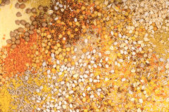 Grain mix background Stock Image