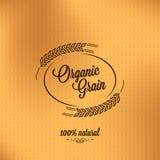 grain organic vintage design background Stock Photography