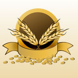 Grain with ribbon Royalty Free Stock Image