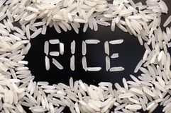Grain of rice Royalty Free Stock Image