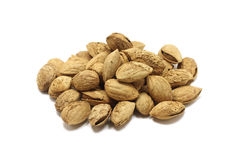 Grain roasted almonds Stock Photography