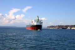 Grain ship Stock Photo