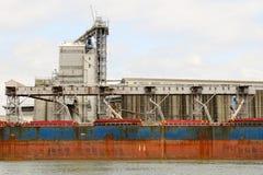 Grain Ship Stock Image