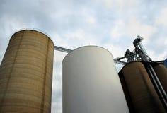 grain silo Стоковые Изображения RF