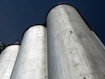 Grain Silo. Facility in Ohio Stock Photo