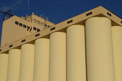 Grain Silo royalty free stock photos