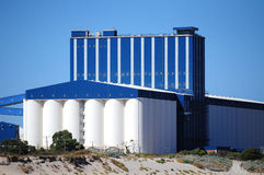 Grain wheat storage Silo Royalty Free Stock Image