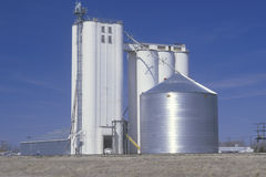 Grain silo co-op Royalty Free Stock Photos