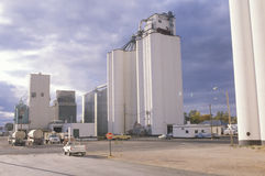 Grain silo co-op Stock Photo