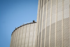 Grain silo Royalty Free Stock Image