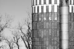 Grain silo. Old grain silo Royalty Free Stock Photo