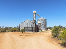 Grain Silo and Storage Shed. Stock Images