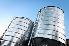 Grain silo Royalty Free Stock Photo