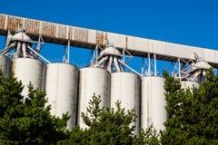 Grain Silo Stock Photos