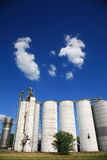 Grain Silos Royalty Free Stock Image