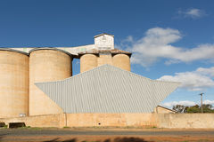 Grain Silos Beckom NSW Stock Image