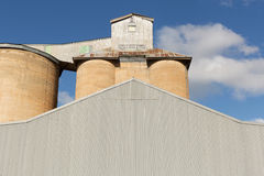 Grain Silos Beckom NSW Stock Images