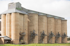Grain Silos Grong Grong NSW stock photography