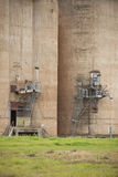 Grain Silos Grong Grong NSW royalty free stock photography
