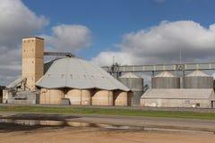Grain Silos Narrandera NSW royalty free stock photo