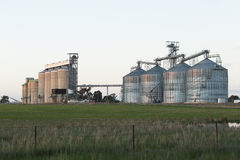 Grain Silos NSW royalty free stock photo