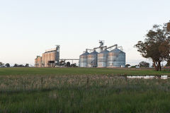 Grain Silos NSW royalty free stock images