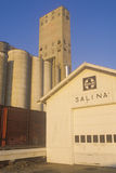 Grain silos in Salina. In  Kansas Stock Photography
