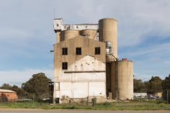 Grain Silos Tocumwal NSW Royalty Free Stock Images