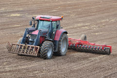 Grain sowing Royalty Free Stock Images