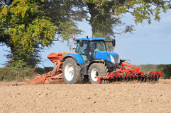 Grain sowing Stock Photo
