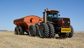 Grain sowing Stock Photos