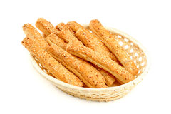 Grain sticks with sesame Royalty Free Stock Photography