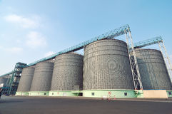 Grain storage Stock Image