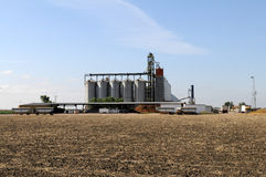 Grain storage Royalty Free Stock Images