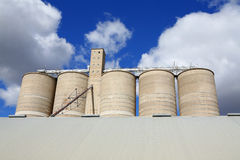 Grain Storage Royalty Free Stock Photo