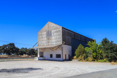 Grain storage barn Royalty Free Stock Image