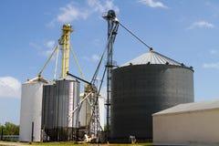 Grain Storage Elevators Stock Photos