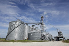 Grain Storage Facility Stock Photos