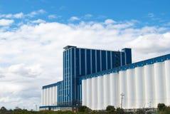Grain storage plant Stock Image