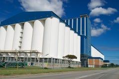 Grain storage plant Stock Photos