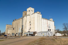 Grain Storage and Processing Facility Royalty Free Stock Photography