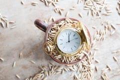 Grain storage Stock Images