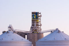 Grain Terminal Royalty Free Stock Photos