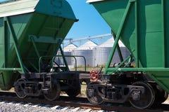 Grain terminal Stock Image