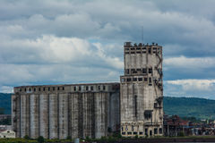 The Grain Terminal Royalty Free Stock Images